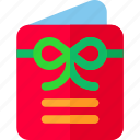 card, christmas, decoration, payment icon