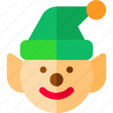 assistant, elf, helper, service icon