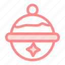 ball, bauble, cchristmas, decoration, ornament icon