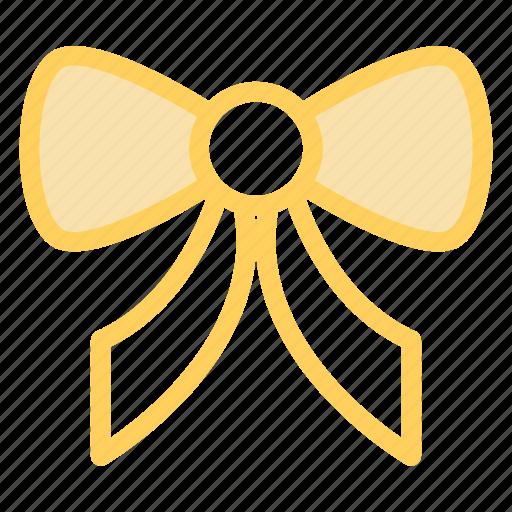 bow, christmas, decoration, ornament, ribbon icon