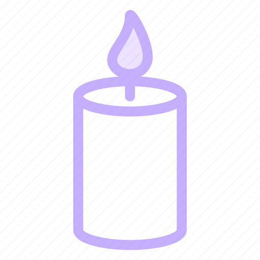 birthday, candle, christmas, hope, light icon