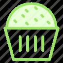 cake, cup, dessert, sponge, sweet icon