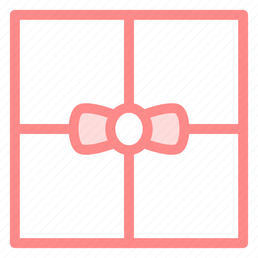 birthday, box, gift, ribbon, surprise icon