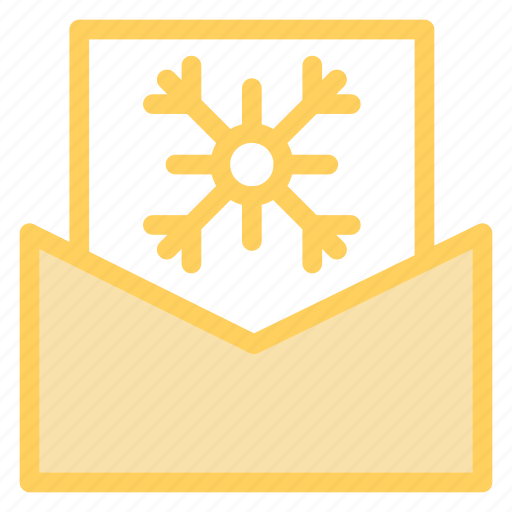 card, christmas, envelope, greetings, letter icon