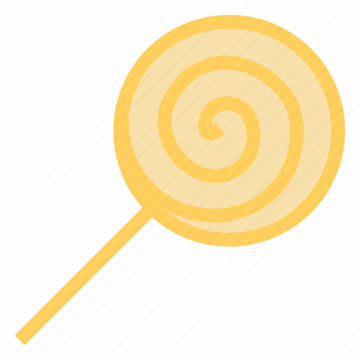 Dessert, spiral, lollipop, candy, sweet icon