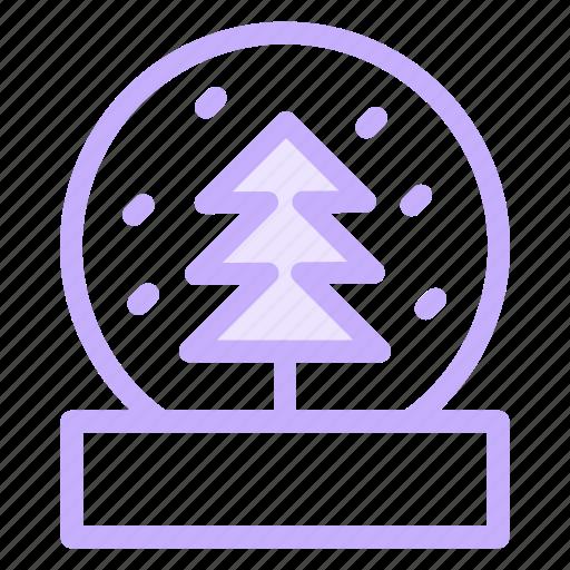christmas, globe, snow, winter, xmas icon