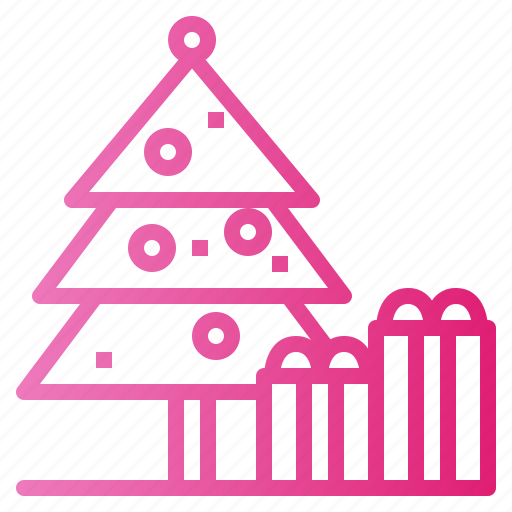 Christmas, festival, gift, tree icon - Download on Iconfinder