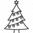 christmas, fir, spruce, tree, xmas icon