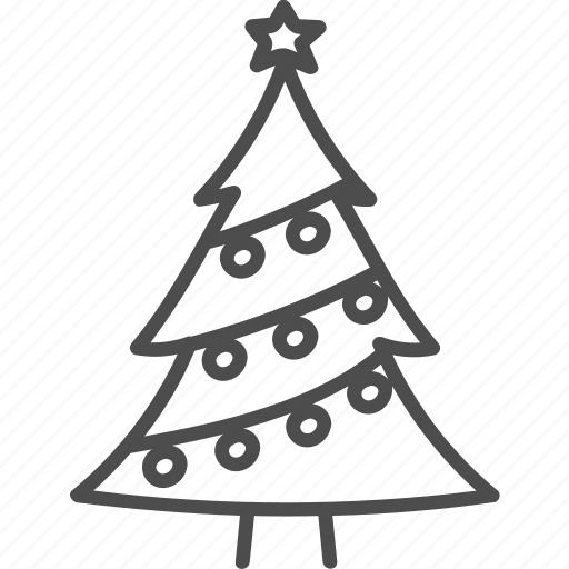 Christmas, fir, spruce, tree, xmas icon - Download on Iconfinder