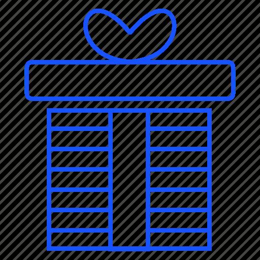 christmas, gift, giftbox, present icon
