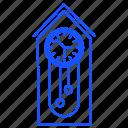 clock, equipment, pendulum, regulator, retro, time, wall