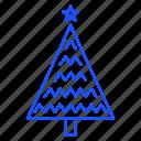 christmas, tree, decorate, joy, celebration icon