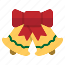 bell, celebration, christmas, holiday, winter icon