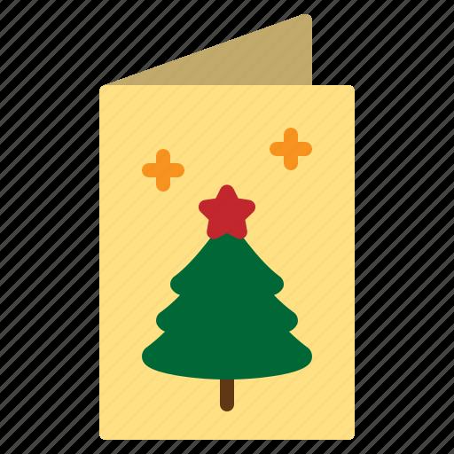 card, christmas, greeting, merry, xmas icon