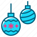 ball, bauble, christmas, holiday, ornament icon