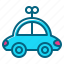 car, children, christmas, gift, toy icon