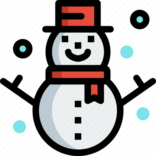 Christmas, decoration, ornament, snow, snowman, winter icon - Download on Iconfinder