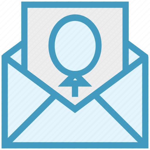 balloon, card, christmas, envelope, letter icon