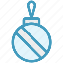 ball, christmas, christmas ball, decoration, holiday icon
