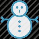 christmas, snow, snowman, snowperson, winter