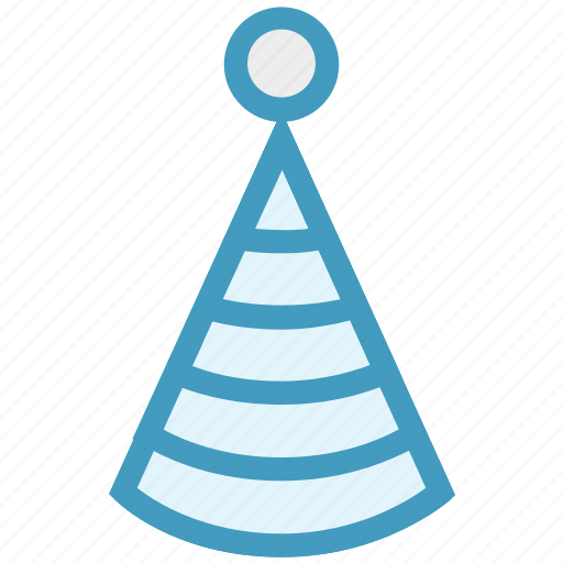 celebration, christmas, cone hat, party, party hat icon