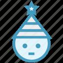 christmas, santa claus, santa claus face, santa face, santa hat icon