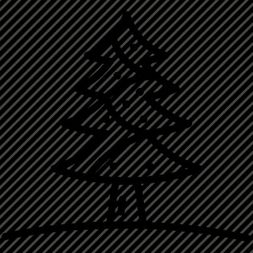 celebrate, christmas, decorate, decoration, tree icon