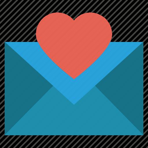 christmas, envelope, heart, invitation, letter icon
