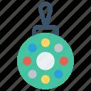ball, christmas, christmas ball, decoration, holiday icon