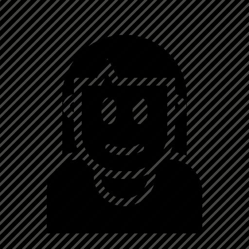 avatar, female, girl, person, woman icon