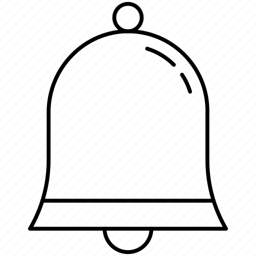 bell, christmas, christmas bell icon