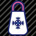 bag, christmas, merry, shopping, winter, xmas icon
