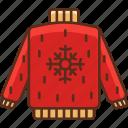 garment, pullover, sweater icon