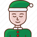 avatar, new year, person icon