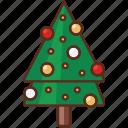 new year, tree, xmas
