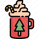 beverage, candy, chocolate, cream, drink, hot, ice icon
