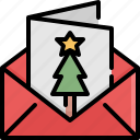card, christmas, decoration, gift, greeting, winter, xmas icon