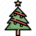 christmas, holiday, snow, travel, tree, winter, xmas icon