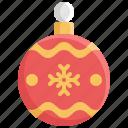 ball, celebration, christmas, decoration, snow, winter, xmas