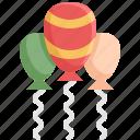air, balloon, birthday, celebration, party, travel