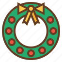 christmas, decoration, holidays, winter, wreath