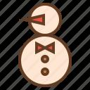 christmas, decoration, snow, snowman, winter