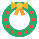 christmas, holidays, wreath
