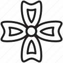 chamomile, flower, garden, petal, plant, spring, spring flower icon