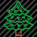 christmas, christmas tree, nature, plant, tree, winter