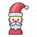 christmas, clause, event, holiday, santa icon