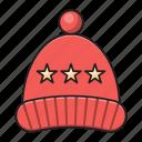 christmas, cap, beanie, hat, woolen