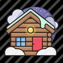 christmas, home, house, winter, ice