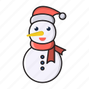 christmas, decoration, party, snowman, ice