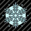 snow, snowflake, christmas, flake, winter, ice icon